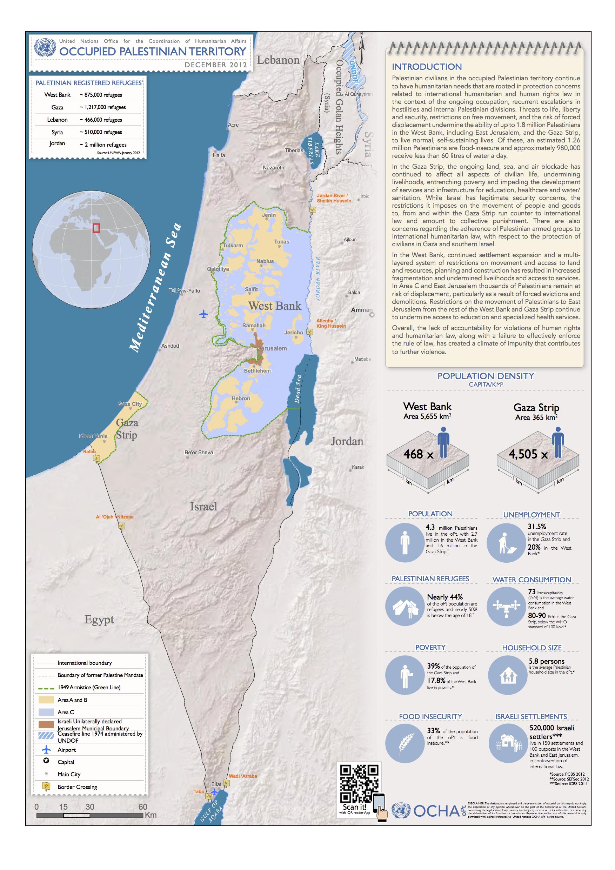 kart over vestbredden Kart | PNN kart over vestbredden